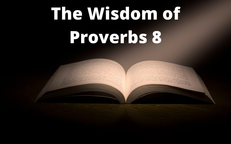The Wisdom of Proverbs 8